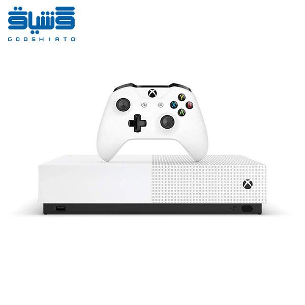 کنسول بازی مایکروسافت مدل Xbox One S ALL DIGITAL ظرفیت یک ترابایت