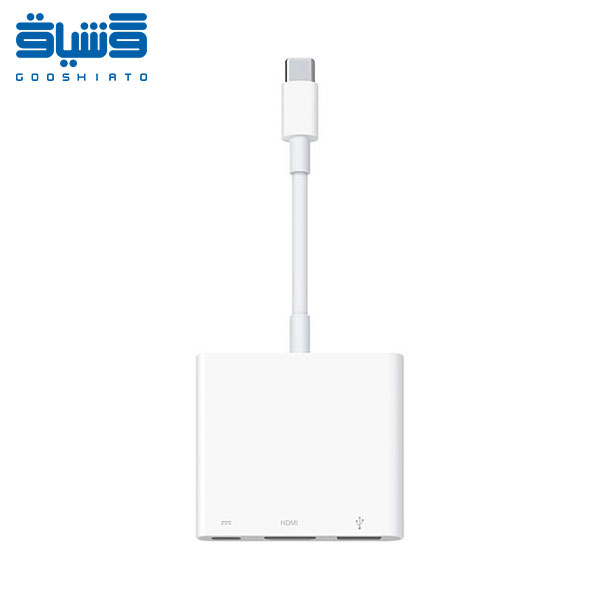 مبدل USB-C اپل مدل Digital AV Multiport Adapter-Apple USB-C Digital AV Multiport Adapter