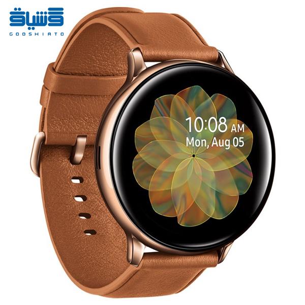 خرید و قیمت ساعت هوشمند سامسونگ مدل Active 2 40mm Leather Band